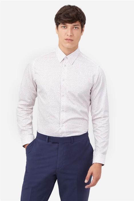 Ted Baker White & Rose Strand Print Shirt