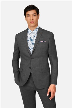 Ted Baker Grey Texture Slim Fit Suit