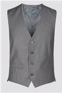 Grey Narrow Stripe Waistcoat