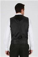Charcoal Twill Waistcoat