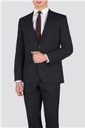 Navy Plain Weave Slim Fit Suit