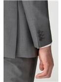 Mid Grey Panama Washable Regular Fit Trouser