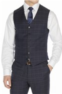 Stvdio Blue with Teal Overcheck Ivy League Suit