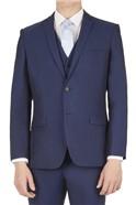Blue Adjustable Fit Waistcoat
