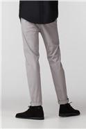 Grey Skinny Stretch Chino