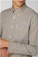 Long Sleeve House Gingham Shirt