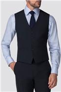 Branded Navy Suit Waistcoat