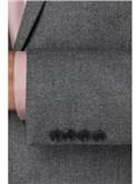 Smoked Grey Jaspe Slim Fit Trousers