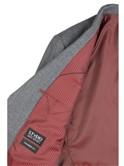 Stvdio Grey Jaspe Tailored Fit Waistcoat