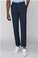 Navy Slim Leg Chino Trouser