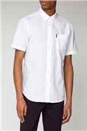 White Short Sleeved Oxford Shirt