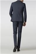 Slate Blue Panama Tailored Fit Suit