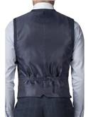 Stvdio Blue Pink Check Slim Fit Ivy League Suit
