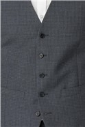 Grey Micro Check Skinny Fit Suit