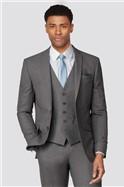 Grey Plain Scoop Waistcoat