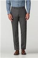 Charcoal Herringbone Trouser