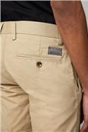 Men's Beige Chino Shorts