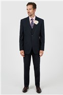 Navy Regular Fit Suit