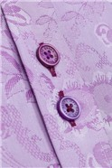 Stvdio by  Limited Edition Magenta Floral Jacquard Shirt