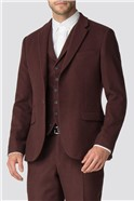 Rust Flannel Tailored Fit Suit