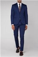 Blue Cotton Camden Suit
