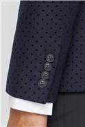Navy Polka Dot Camden Jacket