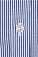 Blue Stripe Slim Fit Shirt