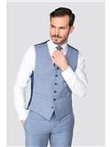 Occasions Light Blue Tailored Fit 2 Piece Suit