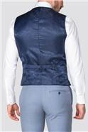 Occasions Light Blue Slim Suit