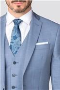 Occasions Light Blue Slim Suit Trouser