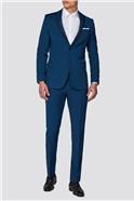 Teal Razor Edge Slim Fit Suit