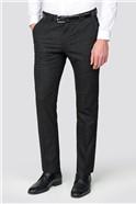 Black Silver Lurex Slim Fit Suit