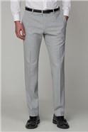 Light Grey Slim Fit Suit Trouser