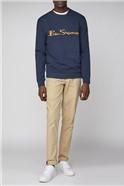 Navy Logo Men's Sweatshirt