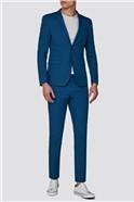 Branded Aqua Skinny Fit Suit Trousers
