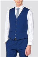Blue Skinny Suit Trousers