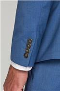 Stvdio Cornflower Blue Super Slim Fit Brit Suit