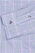 Navy Prince Of Wales Check Shirt