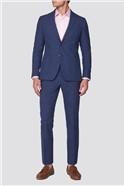 Ink Textured Linen Tailored Suit