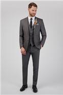 Grey Wedding Slim Fit Suit Trouser