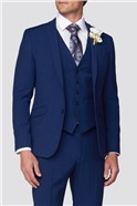 Blue Wedding Skinny Fit Suit Trousers