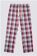 Red Check Loungewear Pant