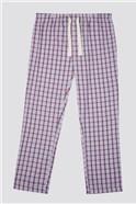 Pink Check Loungewear Pant