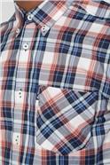 Textured Check Shirt