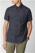 Linen Striped Shirt