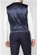 Navy & Tan Stripe Waistcoat