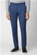 Bright Blue Fleck Slim Fit Suit