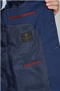 Blue Regular Fit Waistcoat