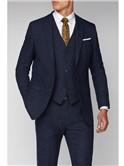 Navy Speckle Slim Fit Suit
