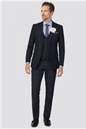 Deep Blue Texture Waistcoat